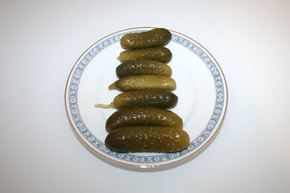 13 - Zutat Cornichons / Ingredient cornichons