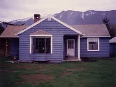 The Burgoines' Blue House