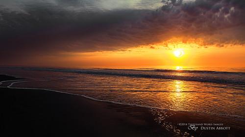 sky usa seascape reflection beach beautiful clouds sunrise dawn unitedstates southcarolina atmosphere naturallight fullframe atlanticocean surfsidebeach exposureblending canonef24105mmf4lis hoyacircularpolarizer canoneos5dmkii tonykuyper thousandwordimages adobelightroom5 adobephotoshopcc alienskinexposure6