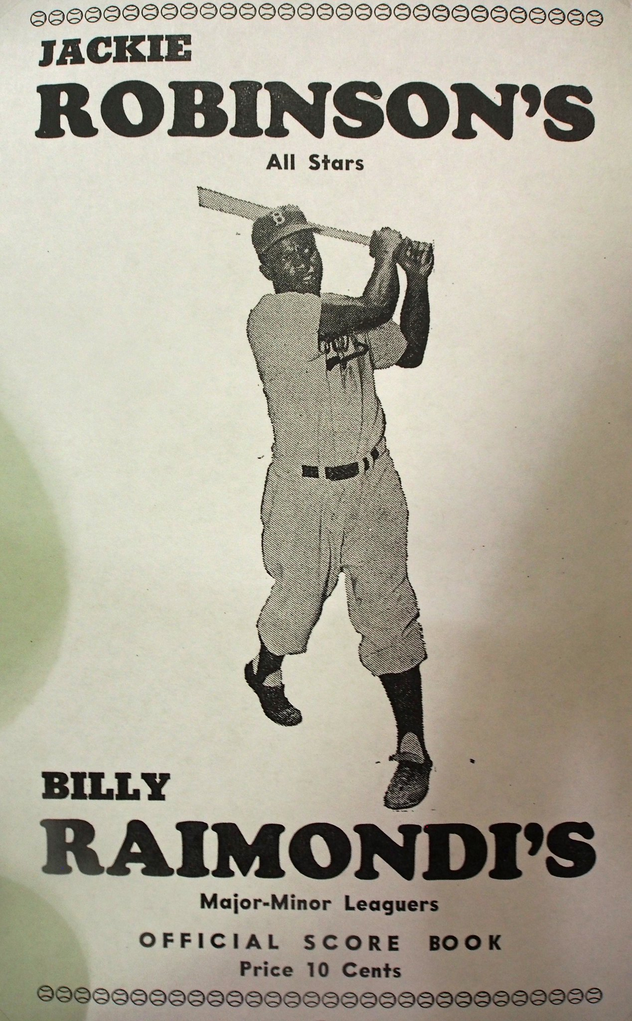 jackie robinson billy raimondi