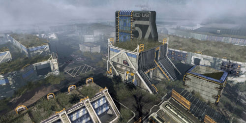 Titanfall map, Zone 18 detailed