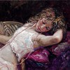 """El Collar Rosa"" Fine Art Limited Edition by Master Royo at EC Laguna Beach Gallery - www.ecgallery.com"