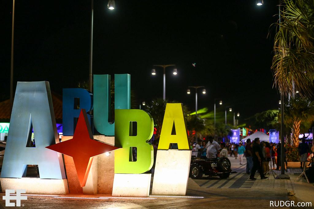 Aruba's EF 2014 Second festival night at Nikki Beach with Nutzbeatz, Lil Jon & Knife Party