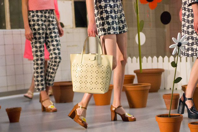 Orla Kiely SS15 show bags