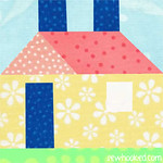 Paper Pieced House, 2014 Update