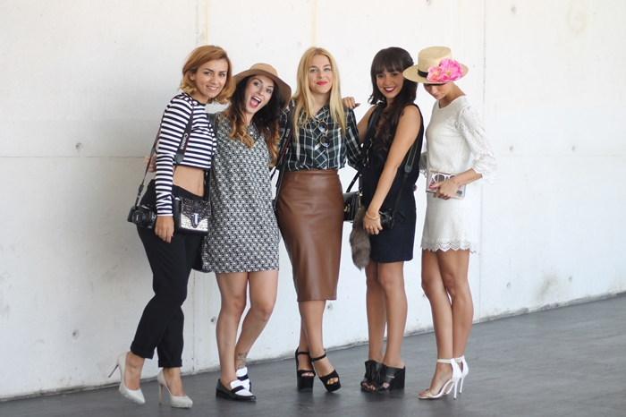 Fashion week Madrid bloggers