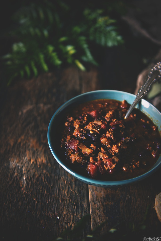 Slow Cooker Tureky Chili