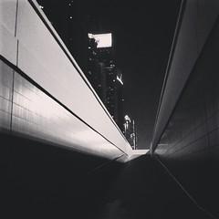 Sheikh Zayed #road pedestrian underpass #streets #noir #city #dubai