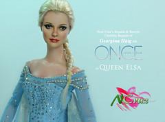 Georgina Haig as Queen Elsa by Noel Cruz