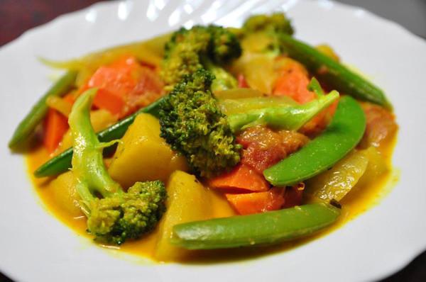 蔬果派對|蔬菜咖哩