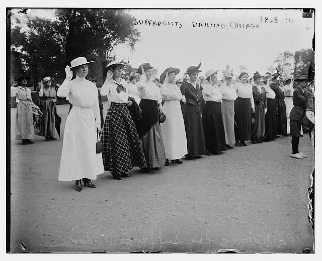 Suffragettes-Chicago