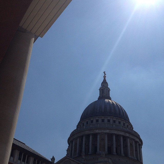 Majestic #stpauls #london #sunshine #blueskies #nofilter
