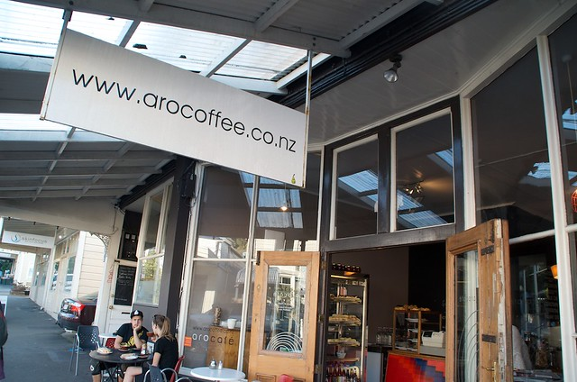 Aro Cafe, Wellington