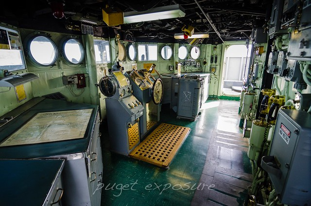 Wheelhouse USS Turner Joy (DD-951)