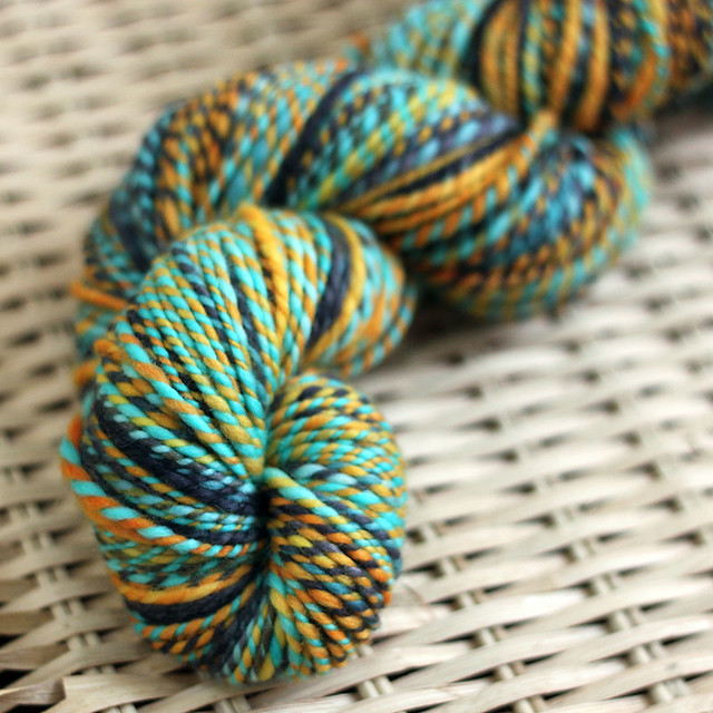 Aquarium 2ply Polwarth Handspun