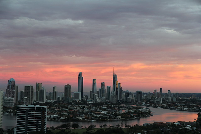 Gold Coast Skyline, Queensland, Australia