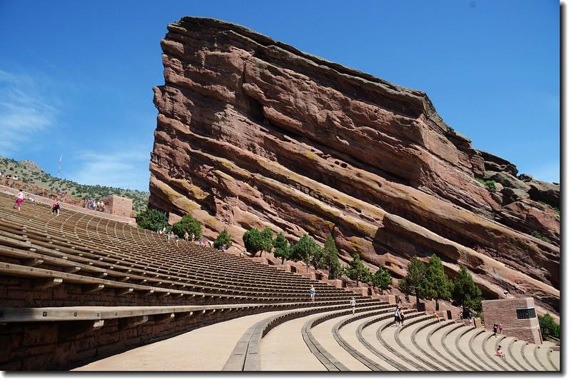 Creation Rock & Terraces(seats) of Amphitheatre 1