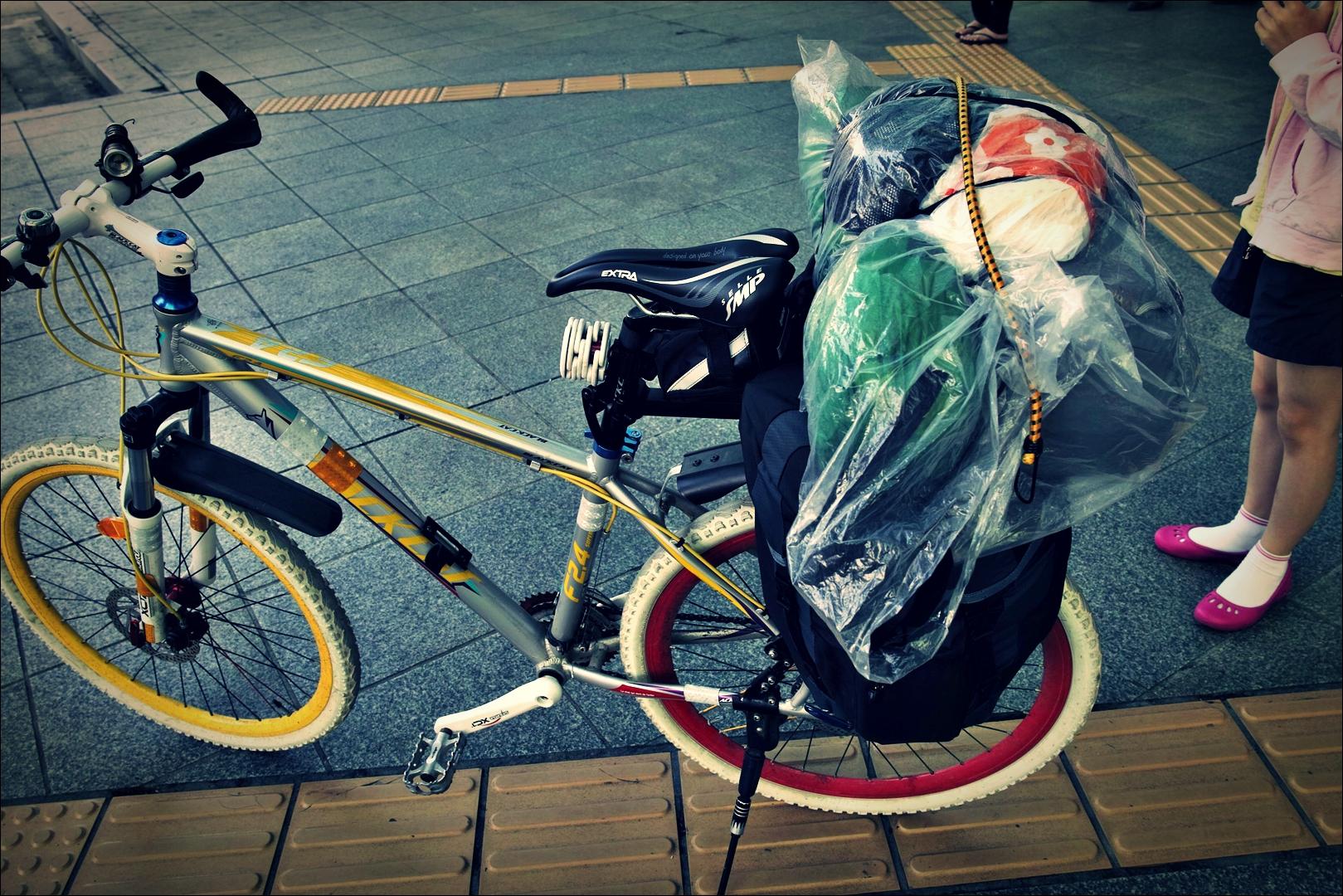 기다림-'남한강 자전거 종주 Bike Riding Namhan river Korea'
