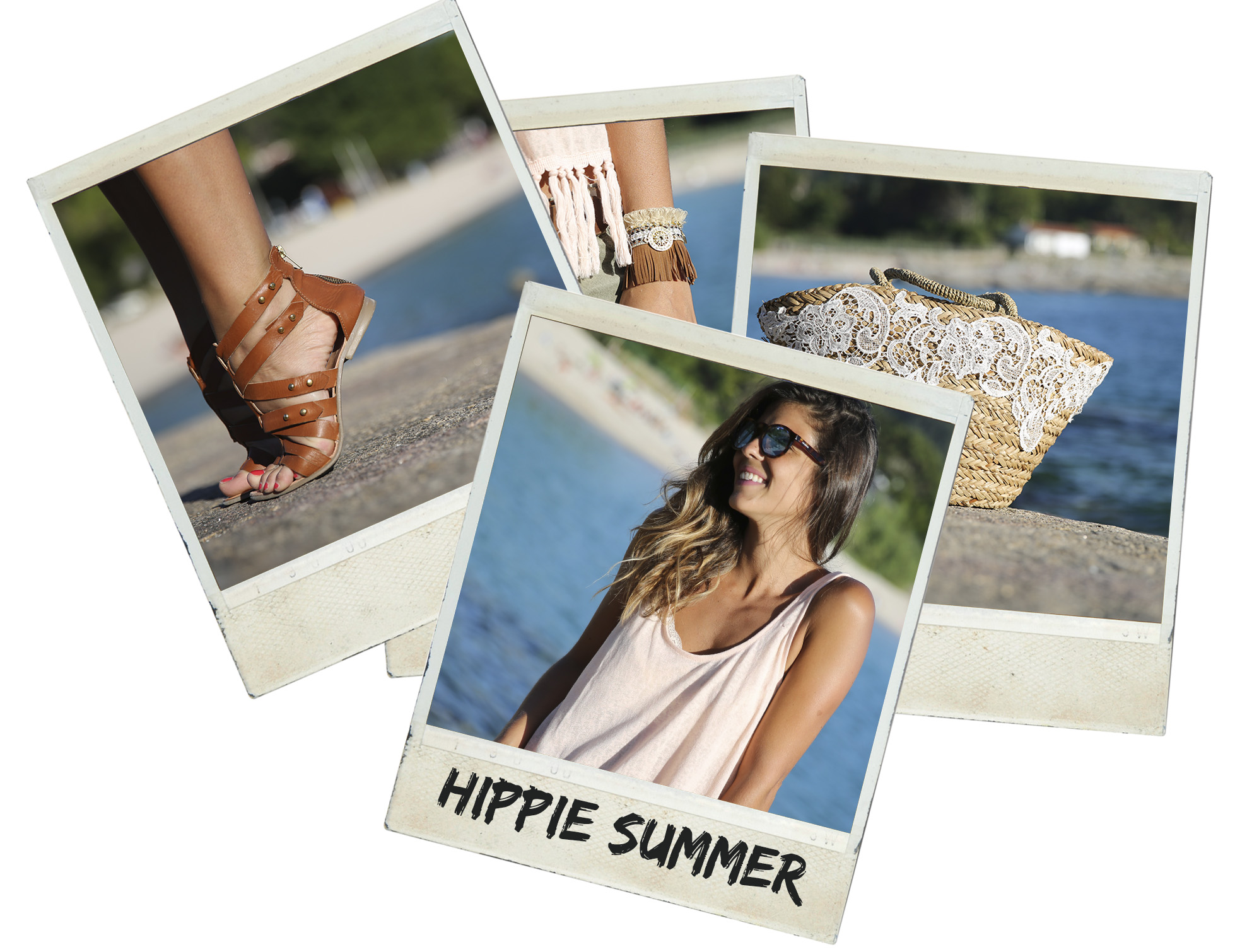 trendy_taste-look-outfit-street_style-ootd-blog-blogger-fashion_spain-moda_españa-boho-hippie-beach-playa-sandalias_romanas-denim_shorts-shorts_vaqueros_rotos-galicia-menduiña-mr._boho-gafas_espejo-polaroid