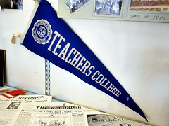 Teacher\'s College Pennant