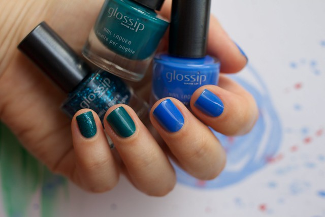 03 Glossip #46 Blue Fairy + #49 Caribbean Sea