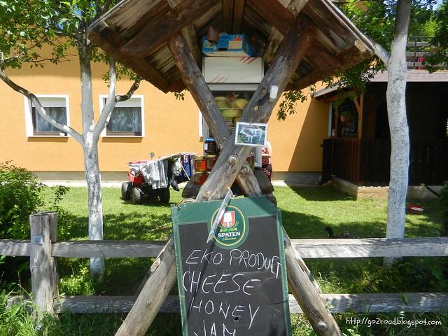 Так предлагают сыр в Хорватии