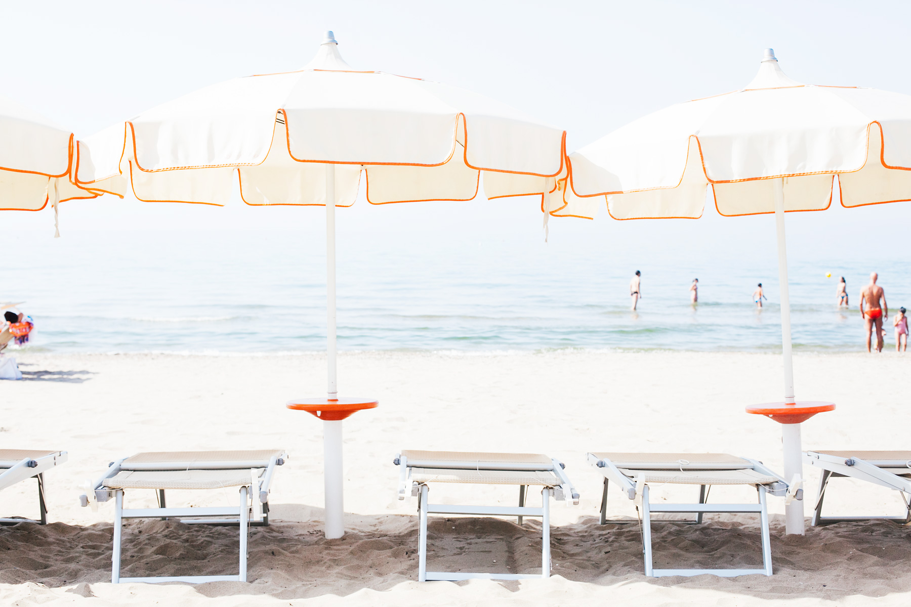 Beach life in Terracina, Italy by Carin Olsson (Paris in Four Months)