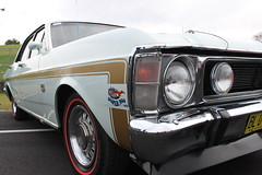 automobile, automotive exterior, vehicle, ford xy falcon gt, compact car, bumper, sedan, land vehicle, muscle car,