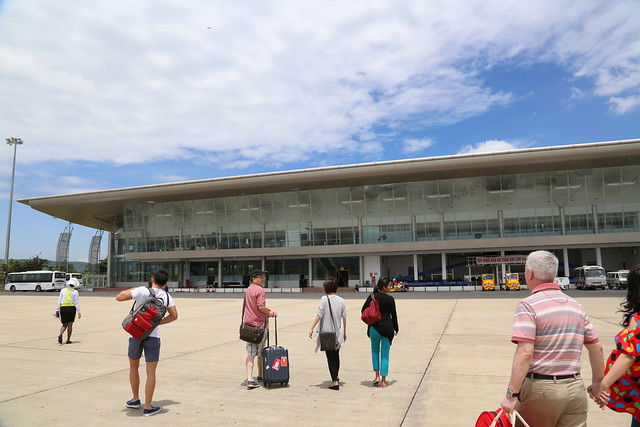 Da Lat's Lien Khuong Airport is pretty new