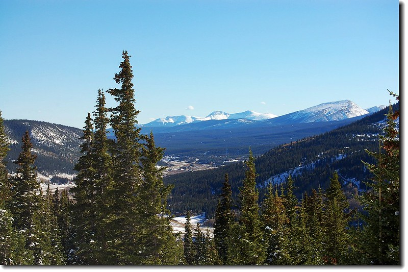 Looking south from the top of Hoosier Pass 3