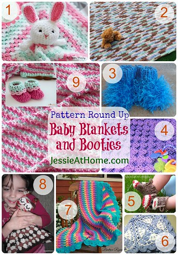 Baby-Blanket-And-Booties-Round-Up