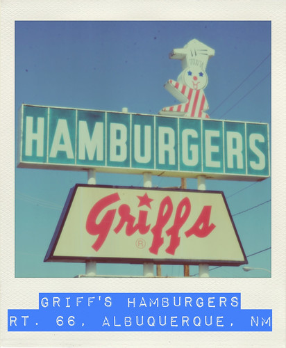 Griff's Hamburgers - Route 66, Albuquerque, New Mexico
