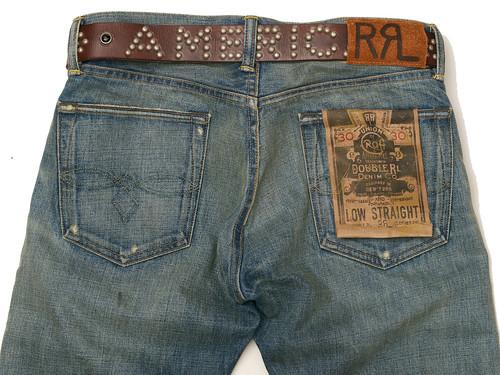 RRL / America Studded Belt