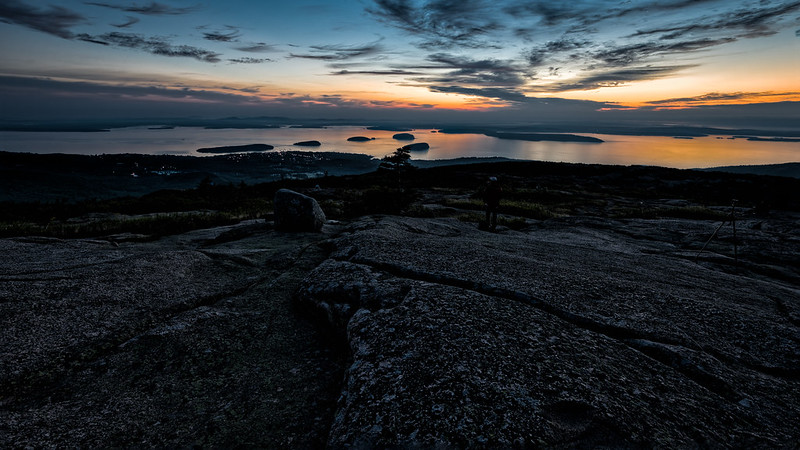 First light - Cadillac Mountain, Acadia National Park