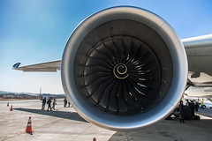 boeing 777(0.0), wheel(0.0), propeller(0.0), flight(0.0), aerospace engineering(1.0), aviation(1.0), airplane(1.0), wing(1.0), vehicle(1.0), jet engine(1.0), air travel(1.0), aircraft engine(1.0),
