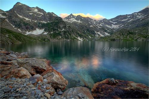 mountain lake landscape lago montagna paesaggio maranzamax