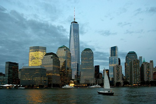 sunset usa newyork skyline skyscrapers unitedstates manhattan wtc amerika 1wtc oneworldtradecenter