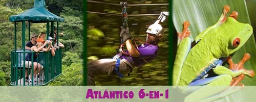 Costa Rica Atlantic 6-in-1 Tour Package