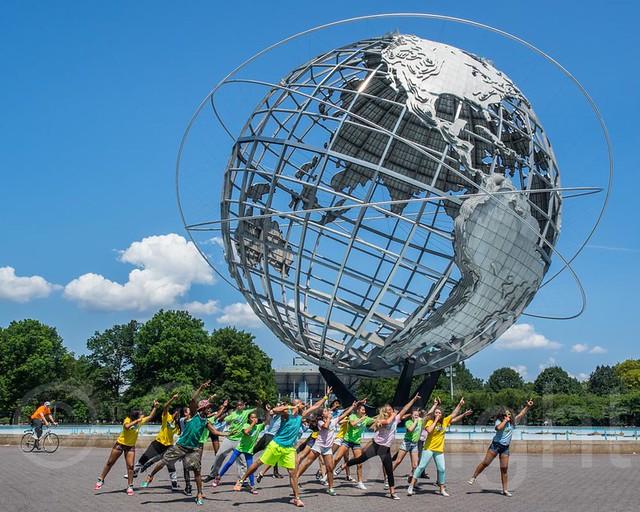 Unisphere Globe Flushing Meadows Corona Park Queens New York City Flickr Photo Sharing