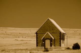 Sheringa church West coast south Australia