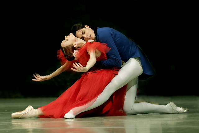 Uliana Lopatkina and Timur Askerov in Marguerite and Armand © Photo by Natasha Razina 2014