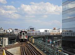 MTA/New York City Transit 7 Train at Queensboro Plaza