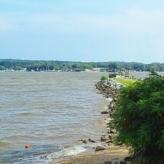 Another view of tbe Chesapeake Bay from Charlestown, MD
