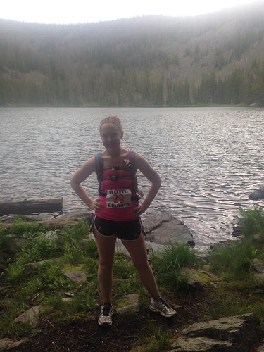 Laura at the 2014 HURL Elkhorn 50M.
