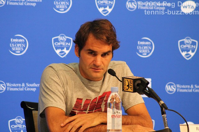 Roger Federer press conference  2014 Western & Southern Open: press conferences pictures 14778995547 a733220b55 z