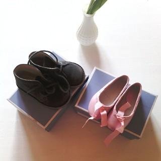 Ce week-end j'ai chiné des chaussures #jacadi toutes neuves pour néné (2€ la paire).