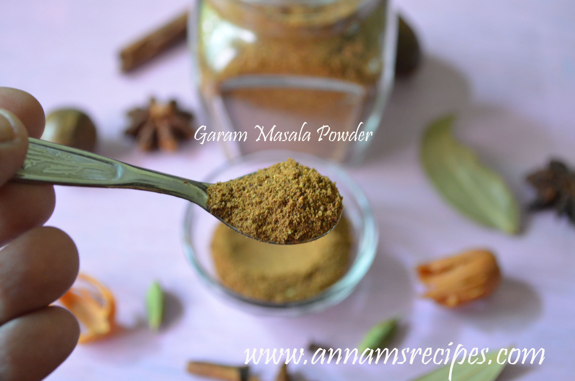 how to cook with garam masala powder