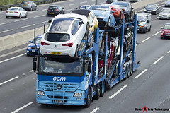 Mercedes-Benz Actros 6x2 Car Transporter - W28 ECM - ECM - M1 J10 Luton - Steven Gray - IMG_6450