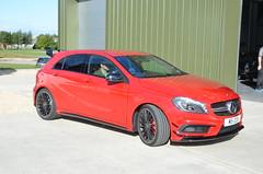 automobile(1.0), automotive exterior(1.0), family car(1.0), wheel(1.0), vehicle(1.0), automotive design(1.0), mercedes-benz(1.0), mercedes-benz a-class(1.0), compact car(1.0), bumper(1.0), land vehicle(1.0), luxury vehicle(1.0), hatchback(1.0),