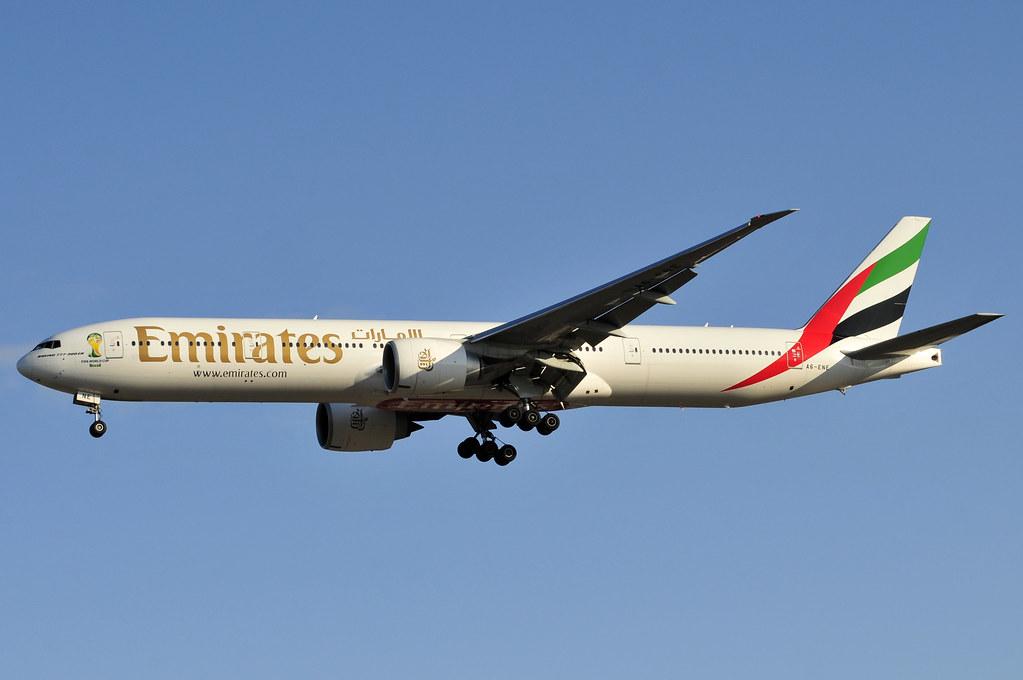 A6-ENE - B77W - Emirates